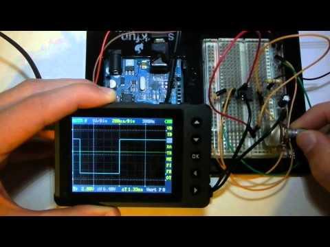 On A BreadBoard: 555 Frequency Generator