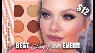 BEST Cheap Palette EVER!! | Colourpop Take Me Home Palette Review/Demo