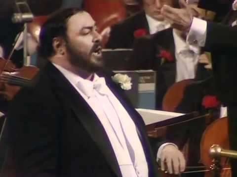 Luciano Pavarotti. Torna a Surriento. London 1982.