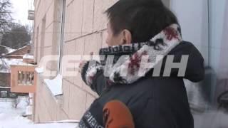 В разгар зимы на набережной начался ремонт фасадов(Мороз ремонту не помеха - по крайней мере в этом уверены коммунальщики Нижегородского района. Сегодня, в..., 2013-12-10T15:27:39.000Z)
