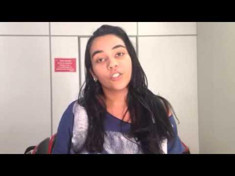 """Camila Nogueira: """"Eu voto na Dilma porque desde  mais pobres e negros estão estudando"""""""
