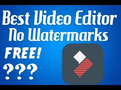 Best Android/IOS Video Editor For YouTube Videos (No Watermarks) (FREE)