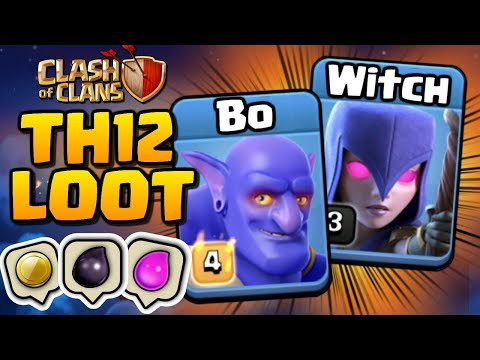 BoWitch TH12 FARMING STRATEGY in Clash of Clans! Titans League Farming at Town Hall 12!