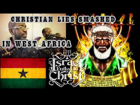 The Israelites: Bishop Nathanyel7 Smashes Christrian Lies On Ghana Radio!!!