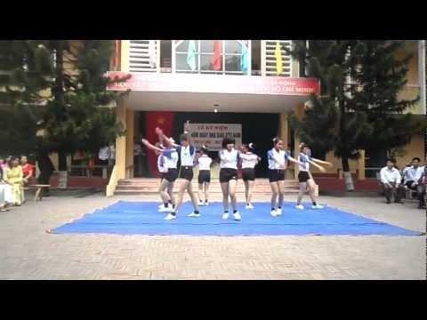 Nhảy AEROBIC chào Mừng Ngày 20/11 tập thể lớp 10a9 thpt Cẩm Lý Lục Nam BG