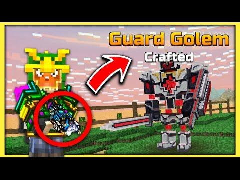 HUGE NEW UPDATE! NEW GUARD GOLEM!   Pixel Gun 3D - New Update 12.0.0 [Review]