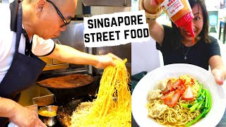 BEST SINGAPORE STREET FOOD | TOP Singaporean dishes | SINGAPORE street food in HAWKER CENTERS