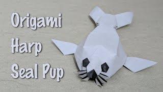 Origami Tutorial: Harp Seal Pup (Quentin Trollip)