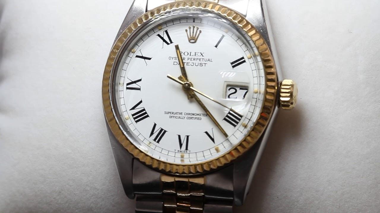 Perpetual Datejust Segunda E330028 Mano 16013 De Oyster Reloj Rolex jL5R4A