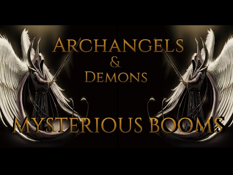 HOLY WAR [CERN EXPOSED] Mysterious Trumpets & Loud Booms Worldwide ARCHANGELS & DEMONS