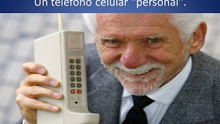El primer Teléfono Celular o Cell Phones 📲  Quien lo Invento | Lo Sabes |