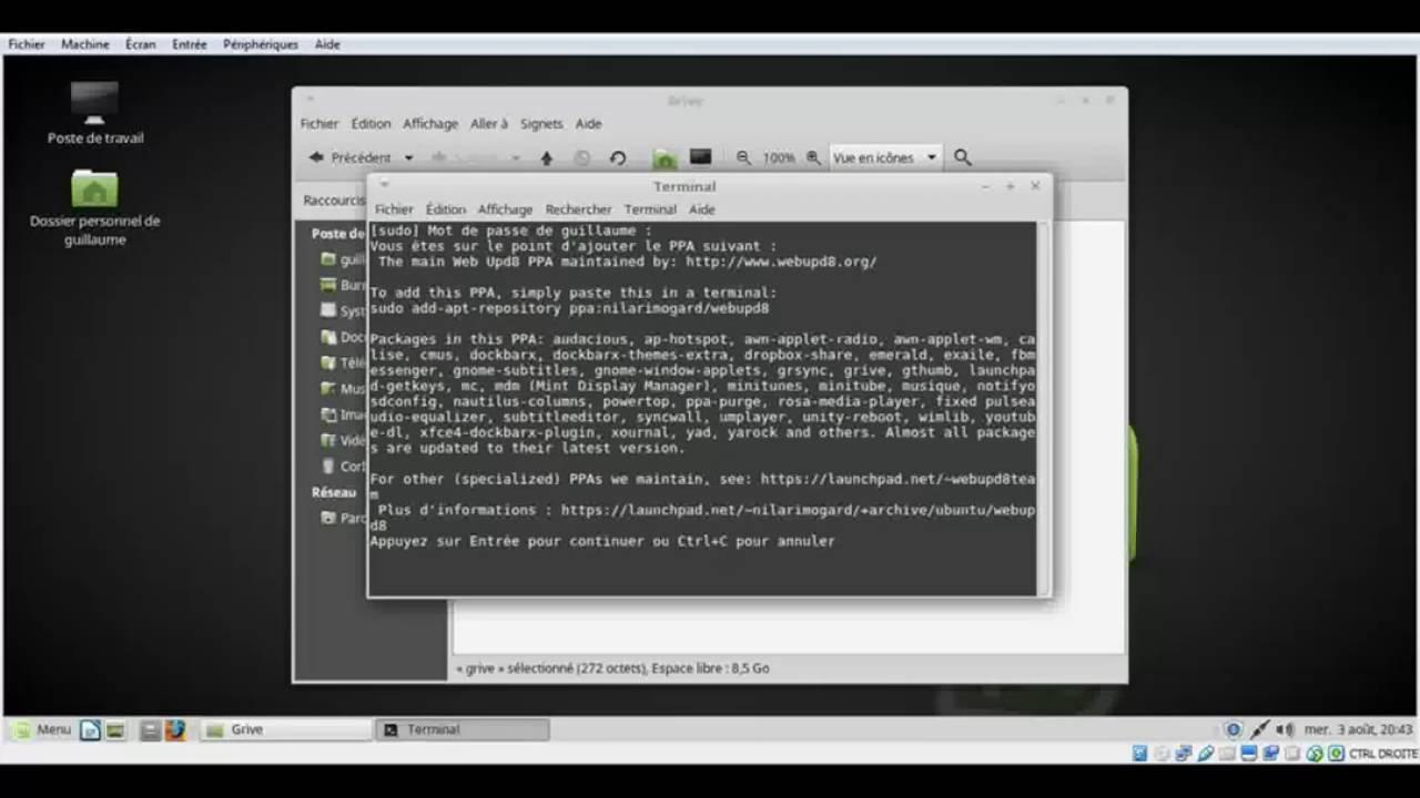 Tutoriel- Installer Google Drive sur Linux (Grive)