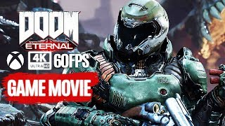 DOOM ETERNAL All Cutscenes (Game Movie) 4K 60FPS UltraHD