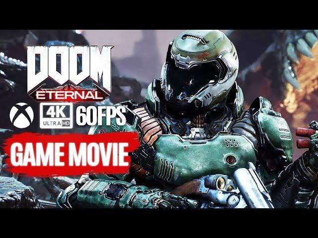 DOOM ETERNAL All Cutscenes (Full Game Movie) 4K 60FPS Ultra HD