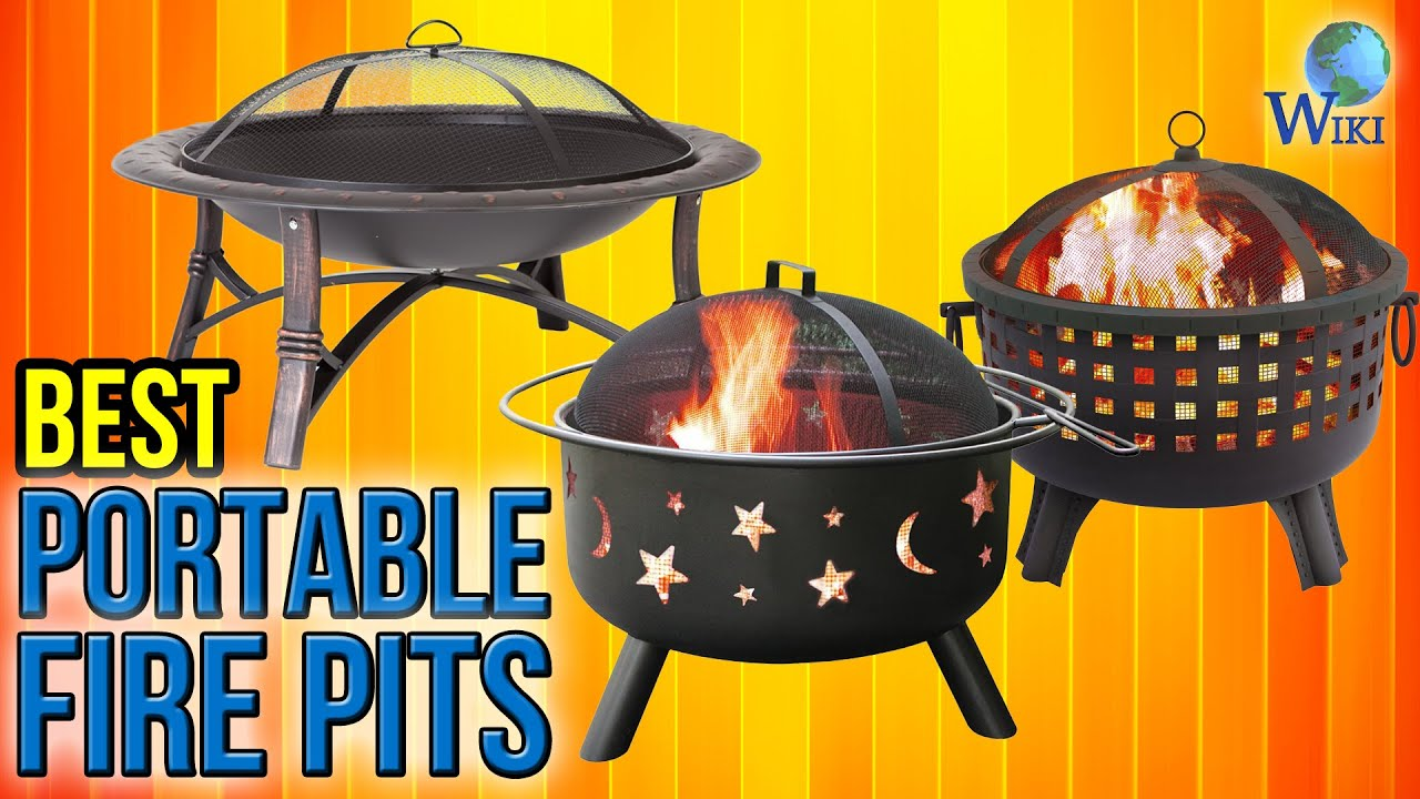 8 Best Portable Fire Pits 2017 - YouTube