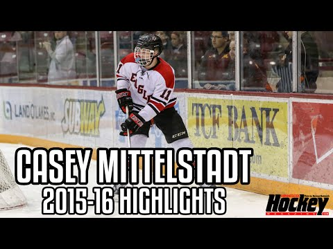 Casey Mittelstadt | 2015-16 Highlights | Eden Prairie Eagles