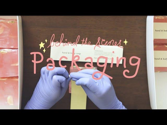 New Video: ASMR Soap Labeling