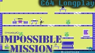 Impossible Mission - C64 Longplay / Full Playthrough