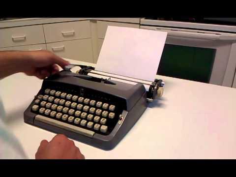 Brother Valiant Typewriter