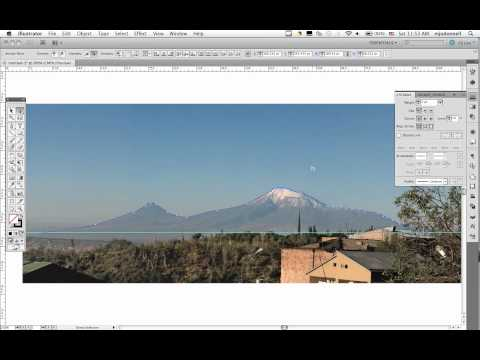 Illustrator Lesson 5: Tracing An Abstract Shape From A Photo