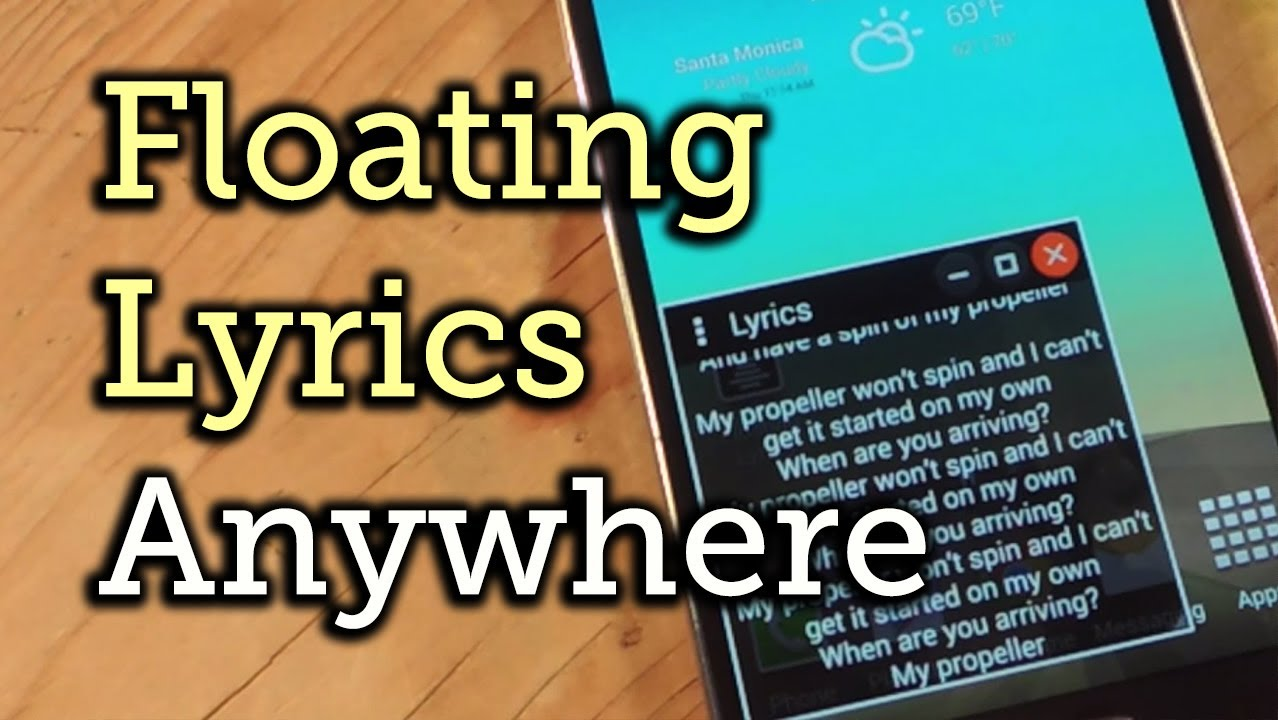 Add Floating Lyrics That Work with Any Music Player on Android—From Any  Screen [How-To]