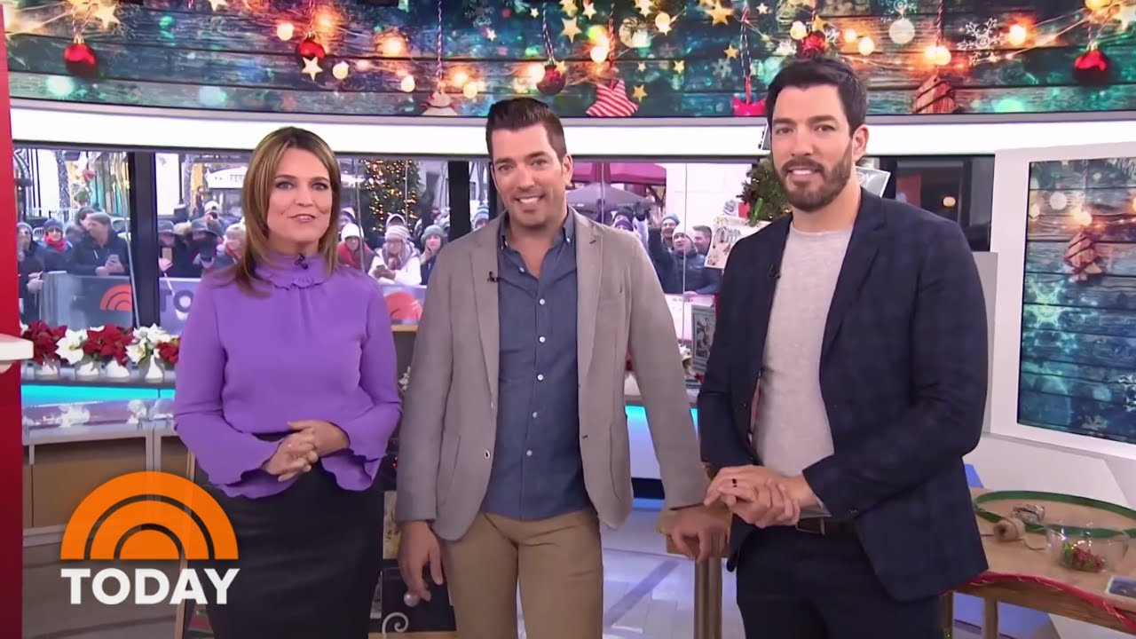 The Property Brothers Share Easy DIY Projects For Holiday Decorations   TODAY