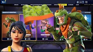 Fortnite Shop 23.4.19 | Rex and Beefboss Skins! | Red scales and dino paints!🤑😱