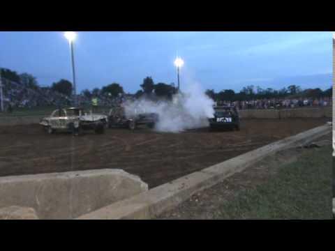 Lebanon Area Fair Demolition Derby Heavy Weld Division