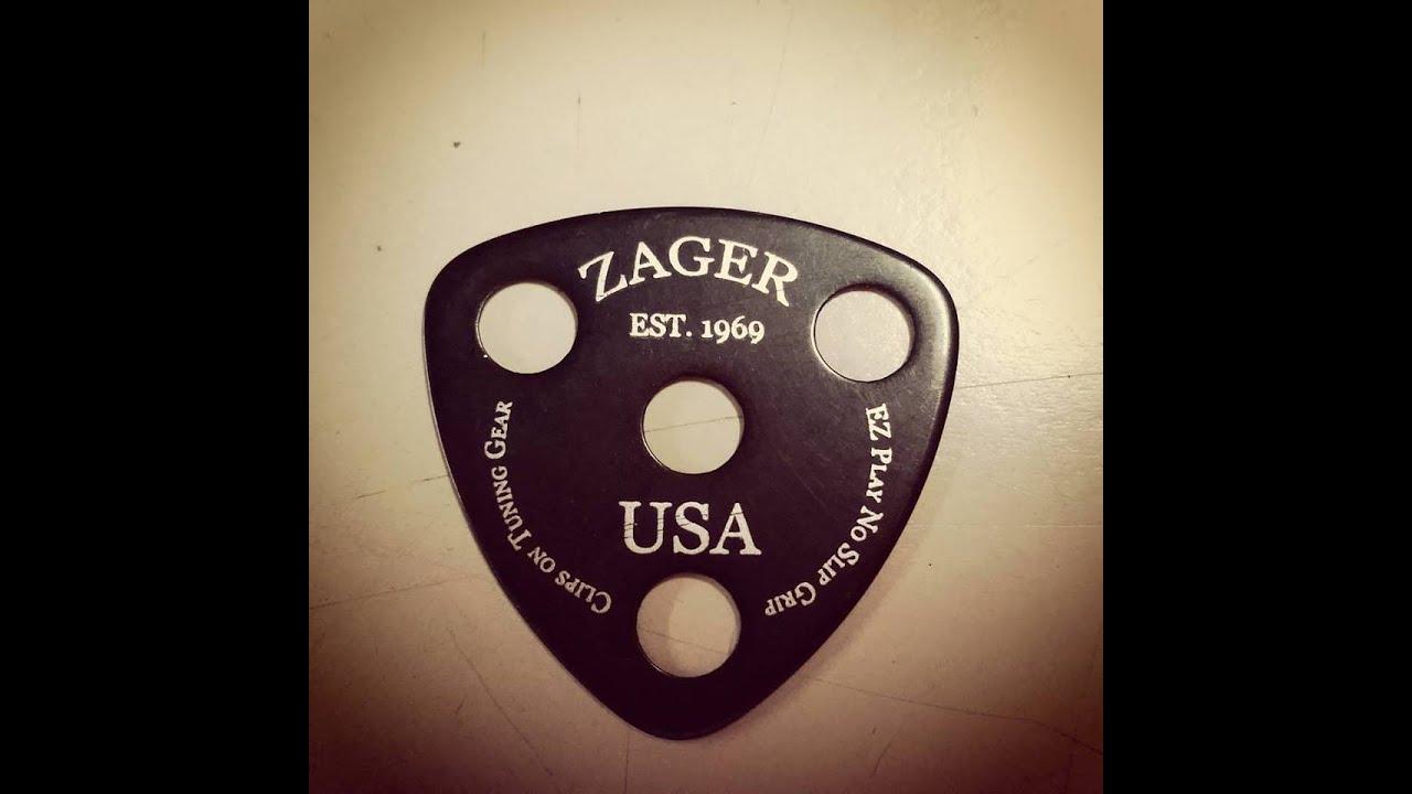 new zager guitar pick design youtube. Black Bedroom Furniture Sets. Home Design Ideas