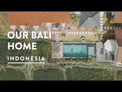 $360 CHEAP CANGGU HOMESTAY | Our Bali Guest House Vila Vlog 143, 2018 | Digital Nomad