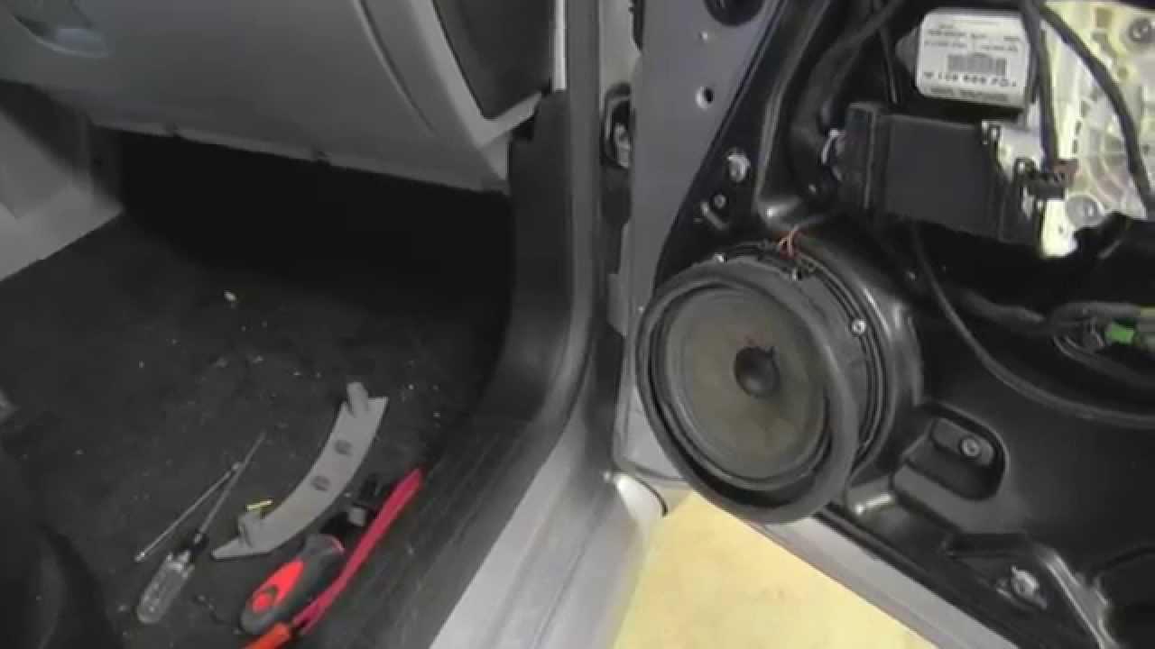 Door Speaker Vw Beetle Removal Youtube