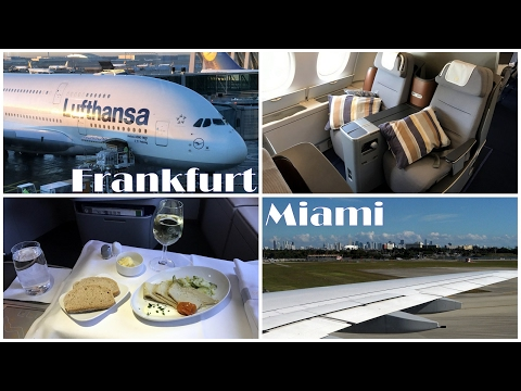 Lufthansa A380 Business Class Flight FRA-MIA | Trip Report | 20.01.2017