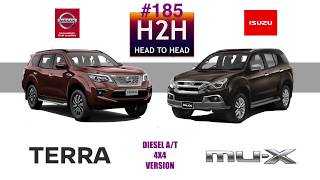 H2H #185 Nissan TERRA vs Isuzu MU-X