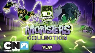 Ben 10 Galactic Monsters Collection Playthrough | Game | Cartoon Network