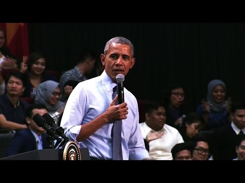 President Obama Holds Young Southeast Asian Leaders Initiative Townhall