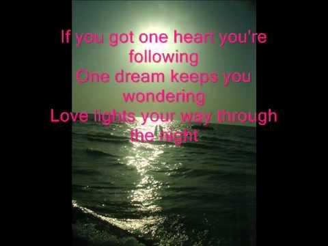 Celine Dion - One heart Lyrics