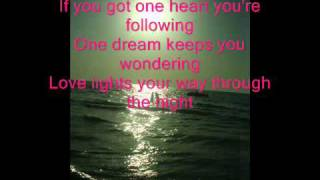 Celine Dion - One heart Lyrics