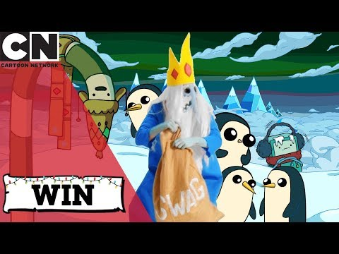 Ice King Steals Christmas | Help us find him for a chance to win | Cartoon Network UK 🇬🇧