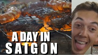 a Final Day in Saigon, VIETNAM. DAILY VLOG #15 - Goodbye Kim.