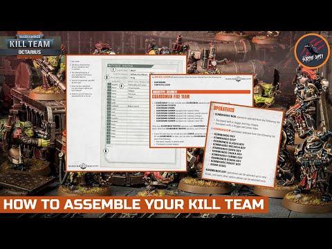 ASSEMBLE YOUR KILL TEAM - LIST BUILDING - ROSTER - OPERATIVES - A BIG UPDATE! Warhammer 40k Octarius