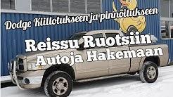 Autojen Hakureissu Ruotsiin, kaikki ei mene ihan putkeen! Viedään Dodge Pinnotettavaksi.