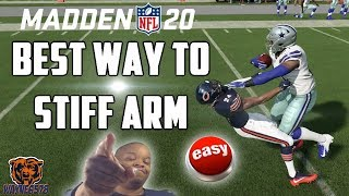 HOW TO STIFF ARM IN MADDEN 20: HOW TO BE UNSTOPPABLE IN MADDEN 20 | WIN GAMES NOW!