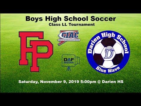 Darien Varsity Boys Soccer Vs. Fairfield Prep