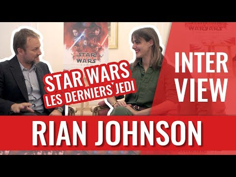 Download Youtube: STAR WARS LES DERNIERS JEDI : INTERVIEW DU RÉALISATEUR RIAN JOHNSON