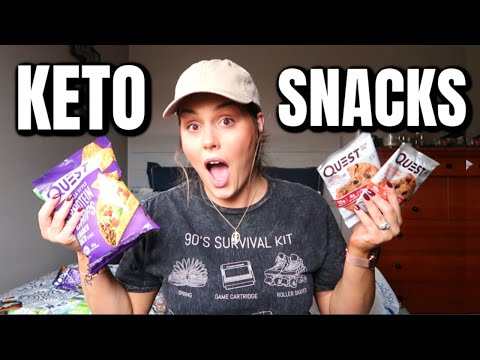 KETO SNACKS HAUL 2020 / BEST LOW CARB SNACKS / DANIELA DIARIES