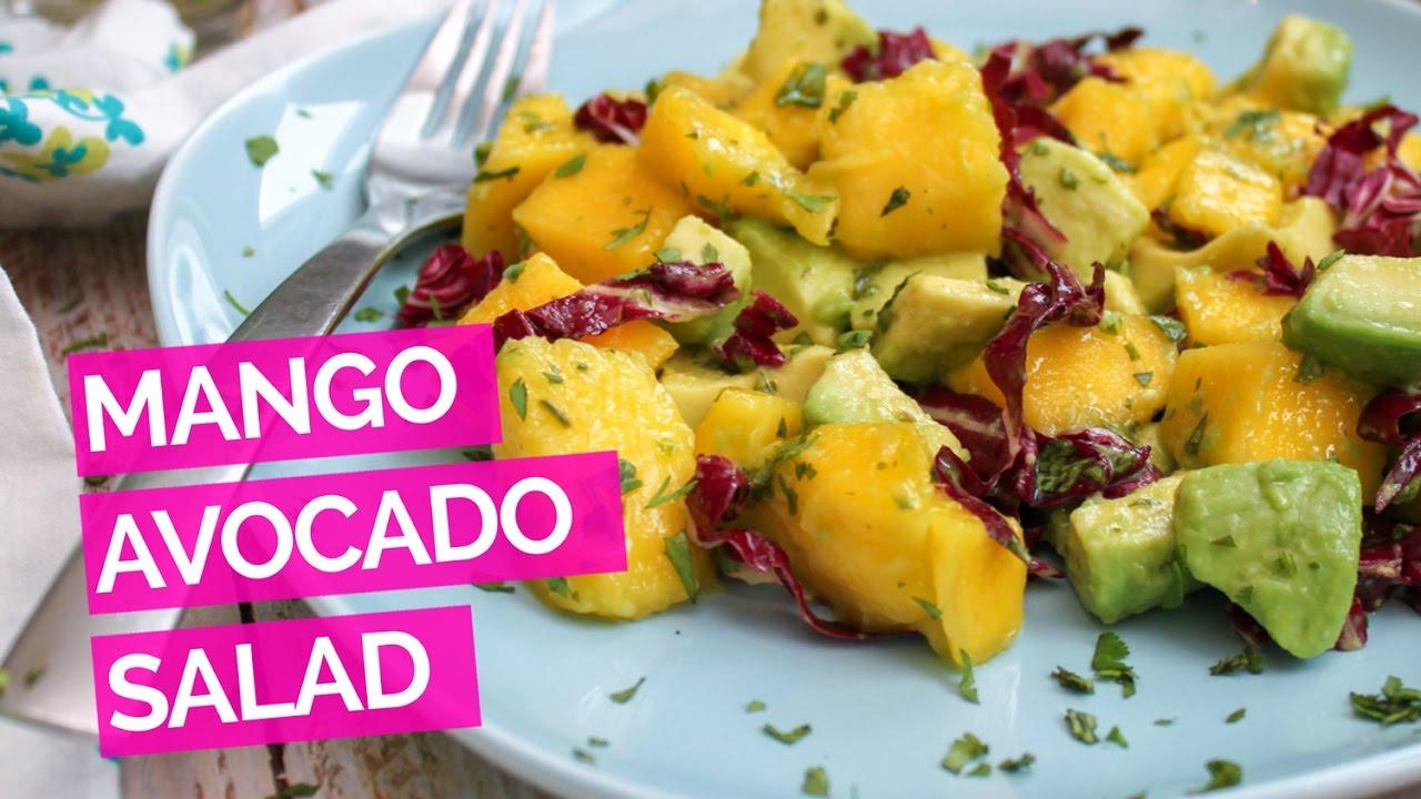 Mango Avocado Salad RecipeYouTube