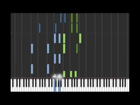 Disclosure - You & Me (Flume Remix) synthesia tutorial PIANO