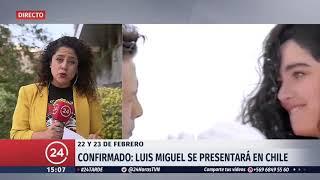 Luis Miguel vuelve a Chile con dos conciertos en febrero