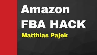 Amazon FBA - One Minute Hack von Matthias Pajek: Keyword Optimierung