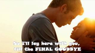 Rihanna - Final Goodbyes ..(Lyrics)